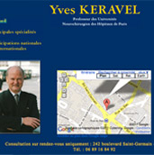 webdesign site professeur yves keravel
